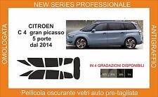 pellicola oscurante vetri pre tagliata citroen c4 gran picasso 2014 kit completo