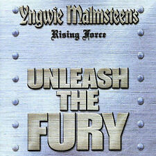 Yngwie J. Malmsteen's Rising Force - Unleash The Fury (CD,2005,Universal,Japan)