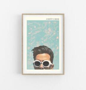 SCHITTS CREEK- Schitts creek poster- movie poster- minimalist poster Glossy Gift