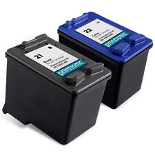 2 Pack HP 21 22 Ink Cartridge - FAX 1250 3180 PSC 1401 1402 1403 1406 1408 1410