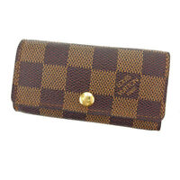 Louis Vuitton Key holder Key case Damier Woman Authentic Used Y2169