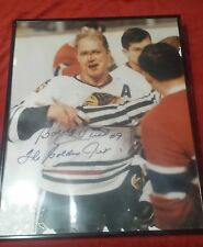 Bobby hull autograph picture