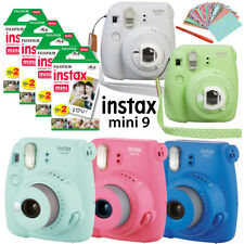 2018 Fujifilm Instax Mini 9 Camera + Instant Polaroid Mini 8 Film Sheets + Gift