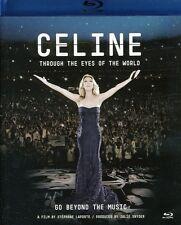 Celine: Through the Eyes of the World (2010, Blu-ray NEUF)