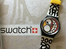 SWATCH limited edition GB 186 by JAK ARNOULD FASHIONS anno 1988 NEW PERFECT