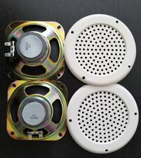 Speakers and Covers for Arcade & Pinball 4 Inch 8 ohm 5W SET 2 BIGGER MAGNET