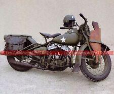HARLEY DAVIDSON WLA 750 ( WW2 ) 1940 Fiche Moto 000018