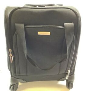 Samsonite Underseat Carry-On Spinner With USB Port Black 16.5 X 13.5 X 9 Inches