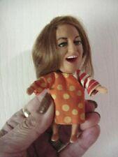 Antique~Vint~ RARE 67 Hasbro Kiddle Showbiz Babies Mama Cass Elliot doll w/Dress