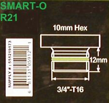 "R21 SMART-O Oil Drain Plug 3/4"" T16 10 mm HEX Sump Plug NEW FAST SHIPPING"