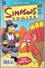 SIMPSONS COMICS #51 (VF) MARGE, LISA, BART & HOMER SIMPSON
