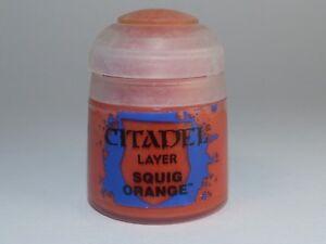 Citadel Layer - Squig Orange - 12 ml - Acrylfarben auf Wasserbasis