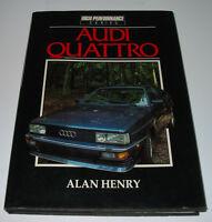 Bildband Audi 80 Quattro + Urquattro Uri Typ 81 85 B2 Sport Treser Quattro!