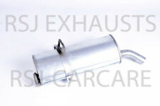 EXHAUST SILENCER PEUGEOT PARTNER 1.9 D Diesel 1998-12-> 2008-07