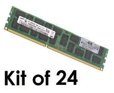 24x HP 8GB 500205-071 595097-001 HP 500662-B21 KTH-PL313/8G ECC RAM PC3-10600R