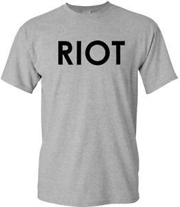 Mac's RIOT T-Shirt It's Always Sunny in Philadelphia New t shirt Tee
