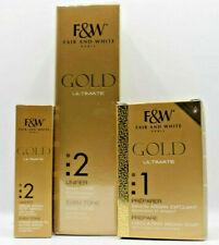 F&W Gold Ultimate Maxi Tone Lightening Cream 350ml + Serum 30ml + Soap 200g