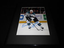 Logan Couture Signed Framed 11x14 Photo PSA/DNA Sharks C