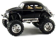 Kinsmart Off Road Monster Wheel 1967 VW Volkswagen Beetle 1:32 Discast Black