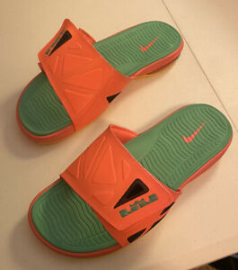 Lebron Slide 2 size 11 air max sandals Miami Beach colors brand new never worn