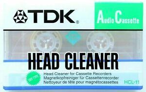 TDK Head Cleaner Audio Cassette
