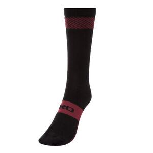 Giro Seasonal Merino Wool Mid Socks - Winter - Ox Blood (2020) - Small