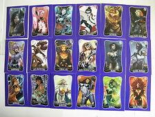 Marvel Dangerous Divas Set 2 II 90 card Set plus P1 promo card by Rittenhouse