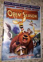 Open Season (DVD, 2009, Full Frame)
