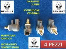INIETTORI GPL METANO RENAULT CLIO TUTTE 4 PEZZI - G001/4