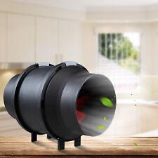 "New listing 6"" Inch 395 Cfm Inline Duct Fan Quite Inline Plastic Fan for Ventilation"