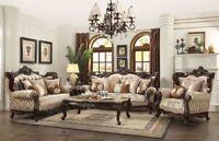 Acme Shalisa Sofa and Loveseat 51050