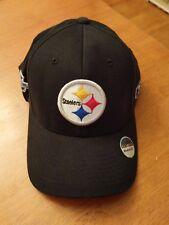 92bde050534eb6 New Vintage Football Flexfit Reebok PITTSBURGH STEELERS Super Bowl XL Hat  Cap