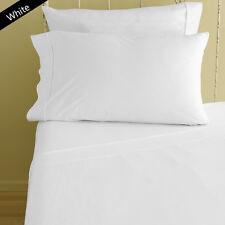 1xFlat Sheet & 2xPillow Case 1000TC Egyptian Cotton All US Size-EDH