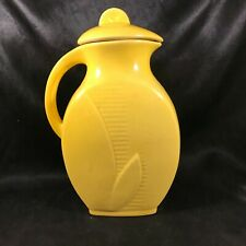 Vintage RED WING POTTERY Yellow Pitcher