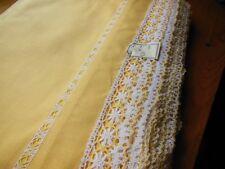 Trés large bordure étagere  bas drap rideau dentelle au mètre ancien 28 cm