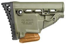GL-MAG SRP FAB Defense OD Green Butt Stock w/ 5.56/223 Magazine Carrier IDF