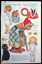 Magazine Paper Doll - Dolly Dingle's Fairy Tales - Hansel & Gretel 1921