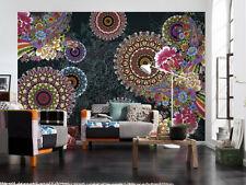 Murale Parete Photo carta da parati Combi Texture astratta fiori arredamento arte GIGANTE!