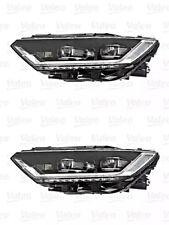 Headlights Pair High beam Fits VW Passat Alltrack B8 2014-