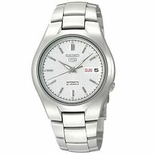 Seiko 5 Automatic Silver/White Dial Stainless Steel Mens Watch SNK601K1 RRP £169
