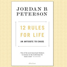 12 Rules for Life An Antidote to Chaos - Jordan B. Peterson (Hardcover) *NEW*