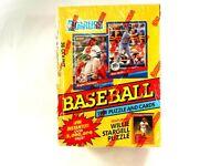 1991 Donruss Major League Baseball Puzzle & Trading Card Sealed Box Set