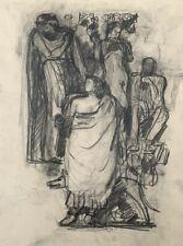 NOEL FEUERSTEIN (1904-1998) PROJET DE SCULPTURE  ART DECO VERS 1930 (159)