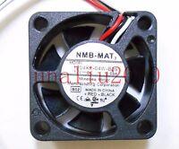 1pc  NMB 1204KL-04W-B39 fan 12V 0.09A 3pin 3010