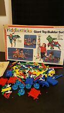 Fiddlesticks Giant Toy Builder Hulk, Batman, Superman, Spiderman Vintage 1979