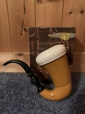 Avon Calabash Pipe Deep Woods After Shave Mostly Full