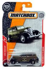 2018 Matchbox #55 '33 Plymouth PC Sedan MBX Rescue Police