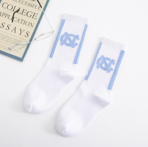 Jordan1 Retro White University Designer Crew Running Sports Socks Unisex