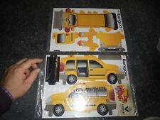 Miniature Pub Découpie Renault Kangoo Carton à Découper Découpage Papier 22cm