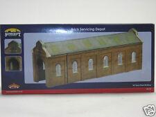 44-173 Bachmann Scenecraft 00 Gauge Model Buildings Brick Servicing Depot New
